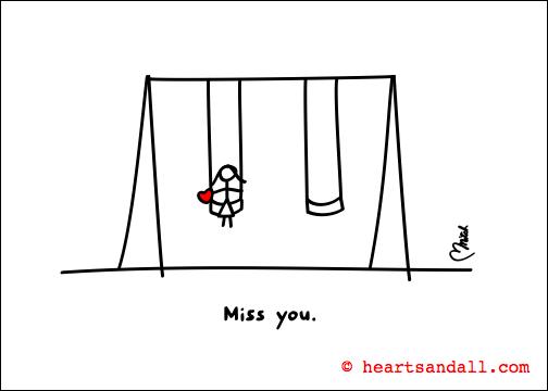 miss you - swings