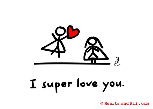 I super love you